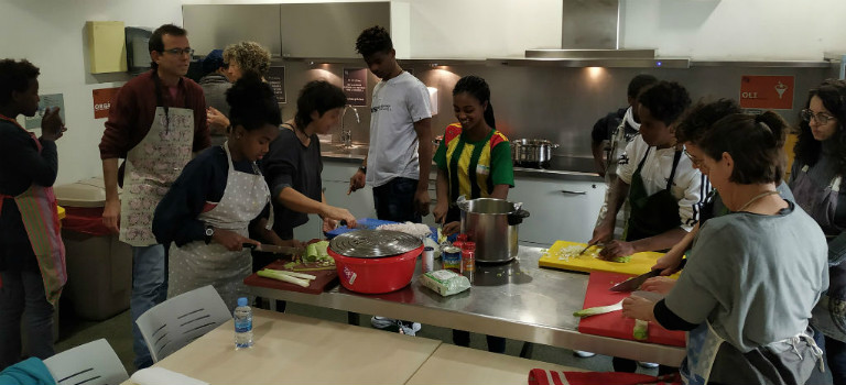 [Etiòpia en positiu] Taller de cuina etíop: una experiència deliciosa